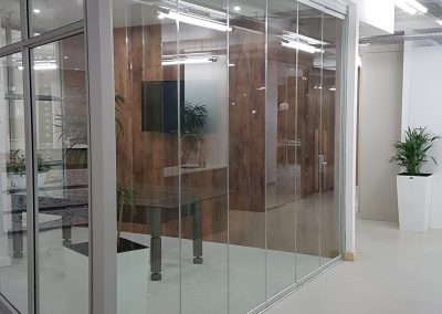 Shadow Glass Frameless Stacking Doors High End Style