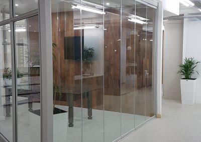 GLASS STACKING DOORS