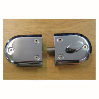 Latch Lock (Glass to Wall) with or without key