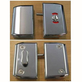 Indicator Latch (Glass to Glass and Wall to Glass)