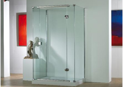 ILLUSION HINGE SHOWER DOOR