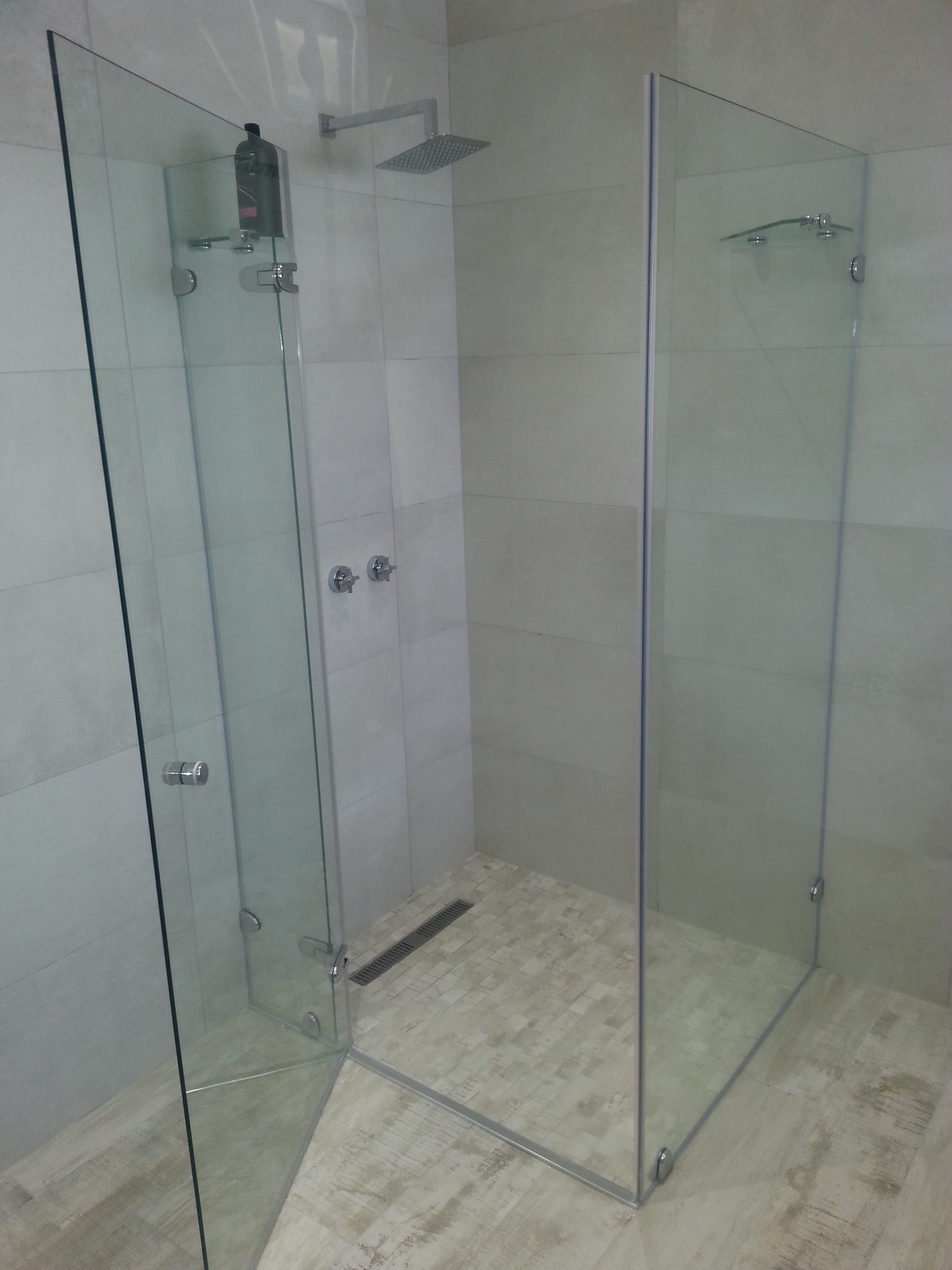 Reflection Hinge 90 Frameless Shower Door Showerline