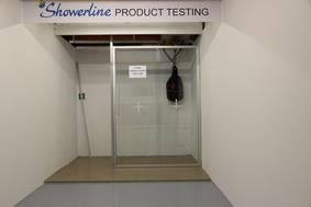 Showerline Product Testing Facility