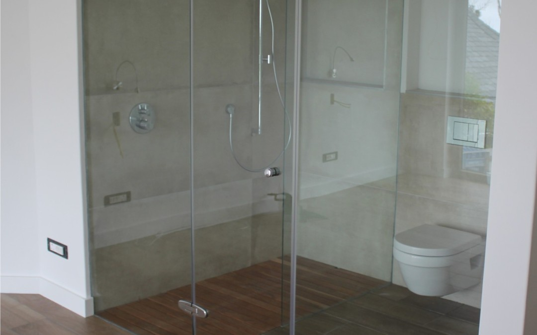 NEW INFINITY Floating Glass Shower Enclosures – Frameless