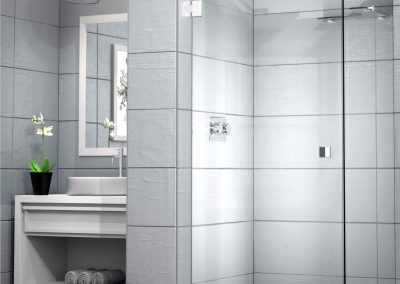 IMAGE 90 Hinge Door Frameless Shower