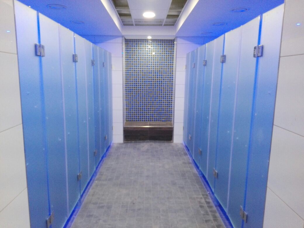 Changing/Locker Rooms | Showerline