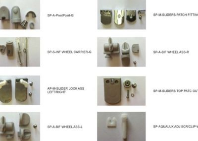 SHOWERLINE SPARE PARTS