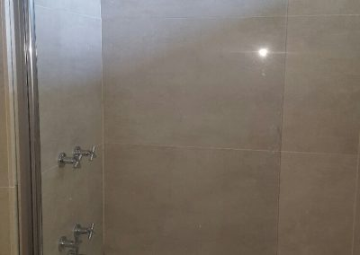 Bath screen no towel rail