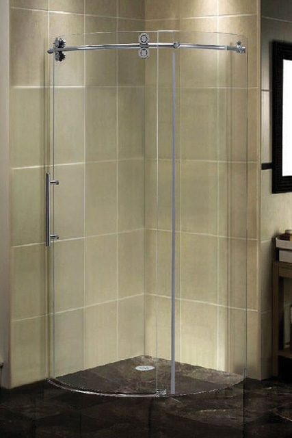 12 Round Glass Shower