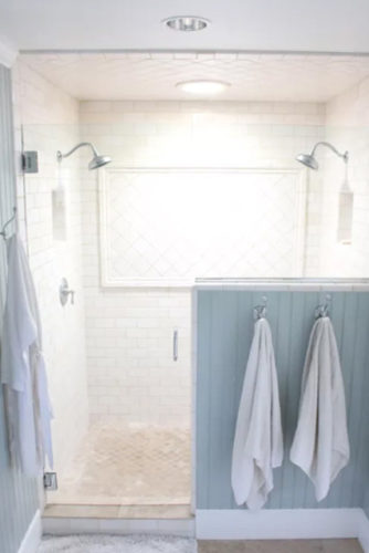 farmhouse shower