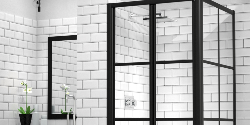Bathroom Inspiration for Your Black-Framed Shower [Photos]