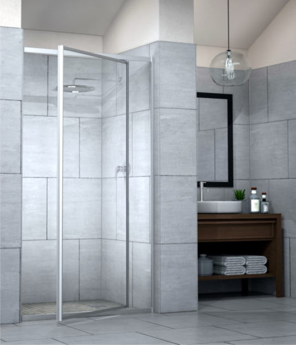 Silhouette Framed Shower Range